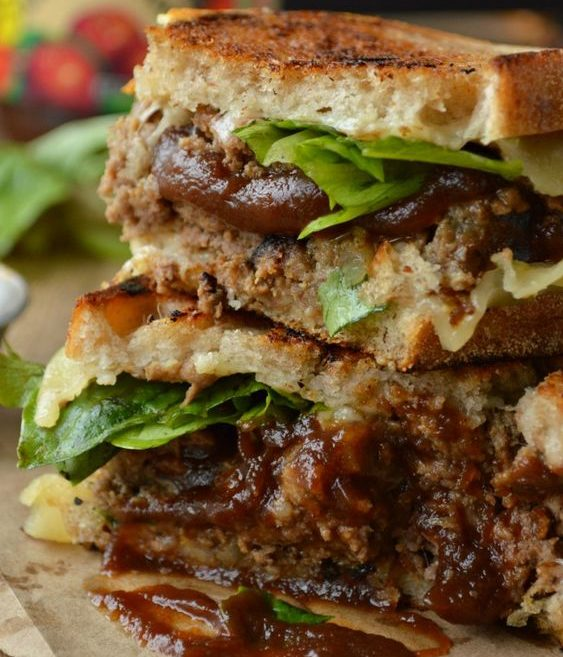 Smokin' Meat Loaf Sandwiches
